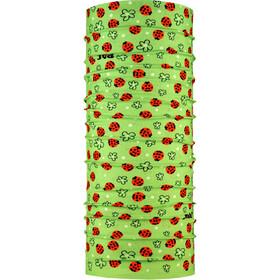 P.A.C. Multifunctionele Loop Sjaal Kinderen, groen/rood